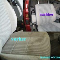 Autositzreinigung