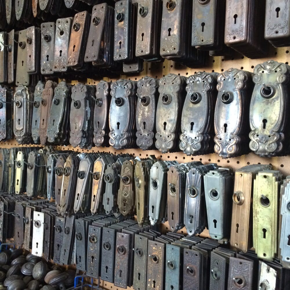 Architectural Salvage Of San Diego: Assorted Door Plates