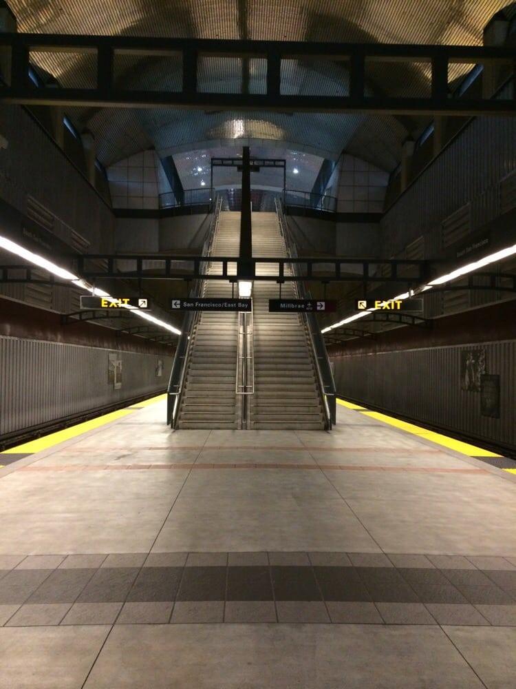 South San Francisco Bart Station Public Transportation