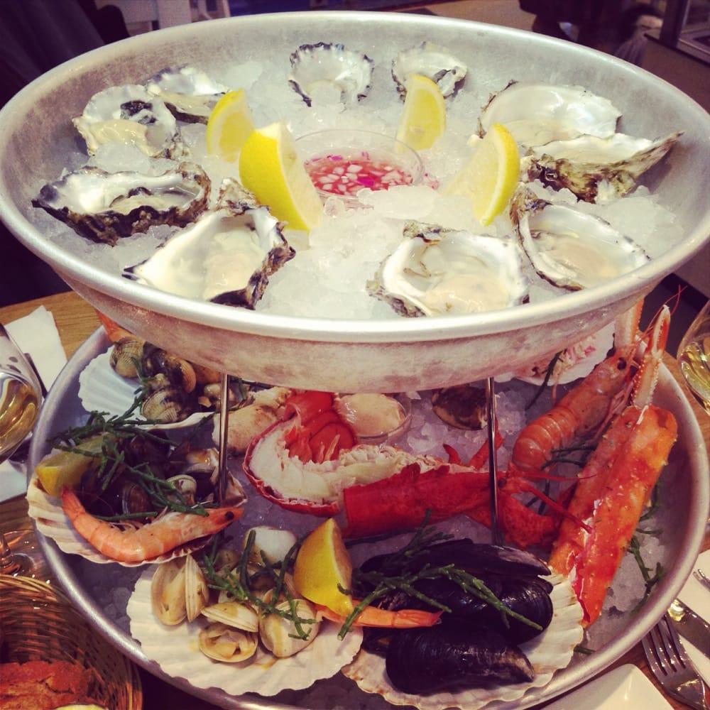 The seafood bar 251 foto piatti a base di pesce for Seafood bar van baerlestraat