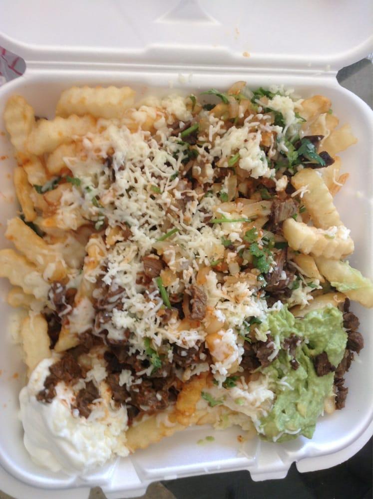 Tacos Del Rio - Corona CA United States Asada fries