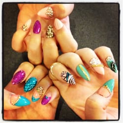 3d nails my friends aren 39 t sure who did their hands but for 3d nail salon upland ca