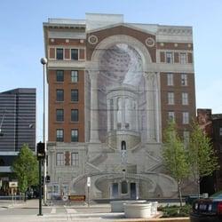 Cincinnatus mural landmarks historic buildings for Cincinnatus mural