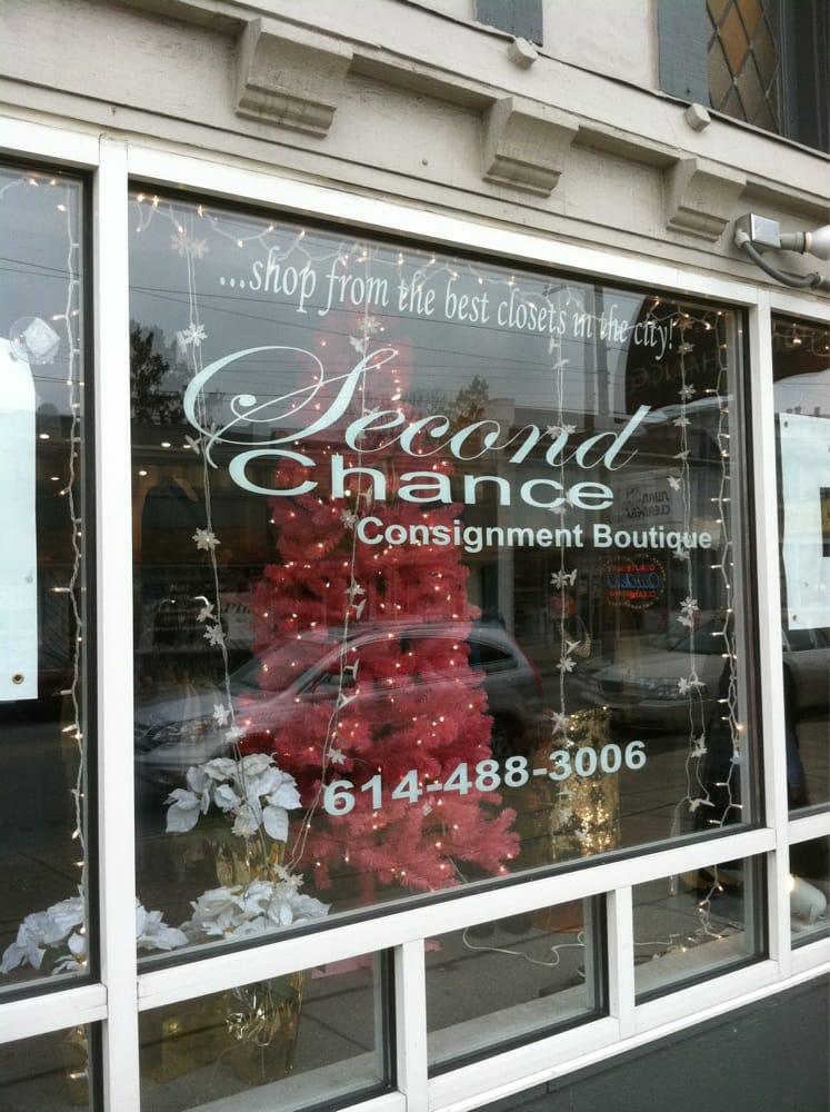 second chance consignment boutique vintage second