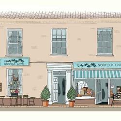 Illustration of Norfolk Living by Nancy…