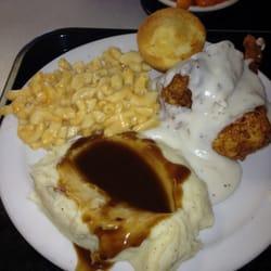 Bluff Park Diner - Monday :) Fried Chicken, mashed potatoes, and Mac&Cheese - Birmingham, AL, Vereinigte Staaten