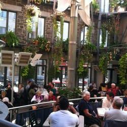 Jardin nelson 294 photos creperies ville marie for Restaurant jardin montreal