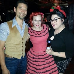 Vintage Clothing - Us and fantastic friends and customers! - Las Vegas