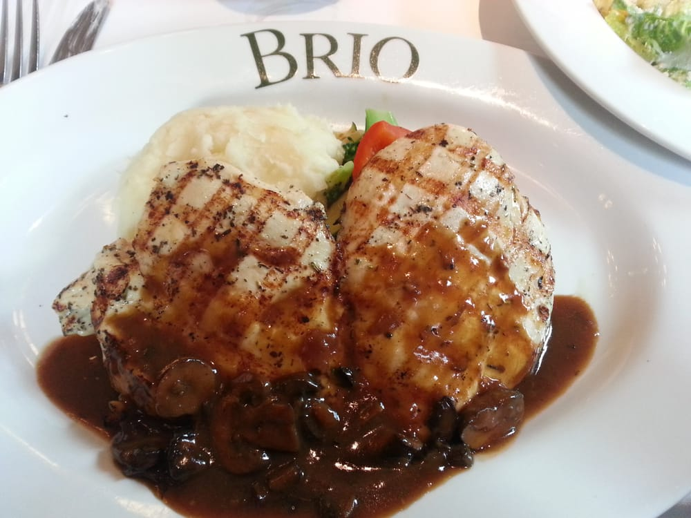 "... Grille - Irvine, CA, United States. Grilled chicken ""under the brick"