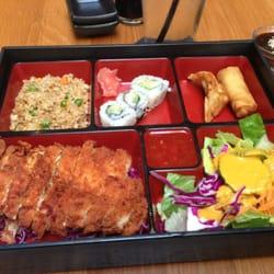 Maiko - Chicken Katsu Bento box - Austin, TX, Vereinigte Staaten