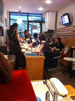 for 24 hour nail salon nyc