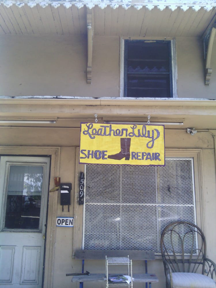 Leather Lily Shoe Repair - New Orleans, LA, United States. For all the