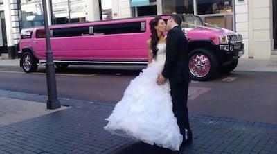 Pink hummer limo hire perth bayswater western australia australia