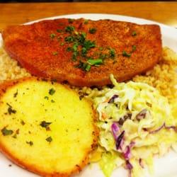 Cajun seared ahi tuna for Fish dish sherman oaks