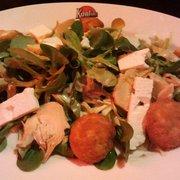 Nachtkantine - Salat von der Abendkarte