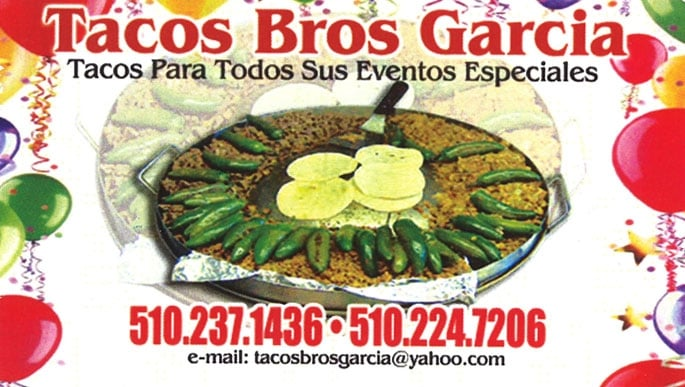 Tacos Brothers Garcia - Caterers - Richmond, CA, United ...