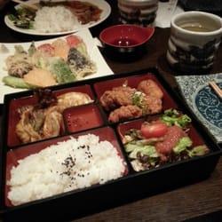 Chicken teriyaki bento box for dinner…