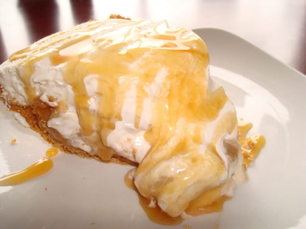 Graham (TX) United States  City new picture : Banoffee pie. Graham cracker crust, toffee type filling, banana slices ...