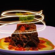 spaghetti al nero di seppia in salsa…