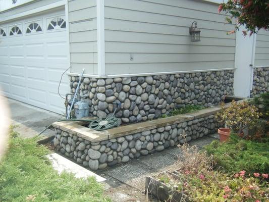 Oakland (TN) United States  city photos : ... Installation of Stone veneer and cap Oakland, CA, United States