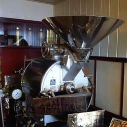 Wunderbar - eine alte Röstmaschine!
