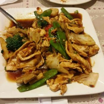 Mapo Restaurant - Naperville, IL, United States. Hunan Chicken