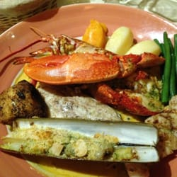 Meli mixed seafood all in a sea of…