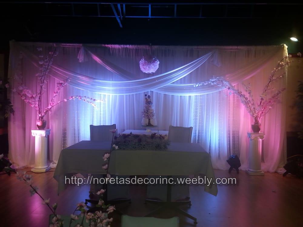Beautiful Backdrop Banquet Hall Decoration Wedding Decoration Calgary