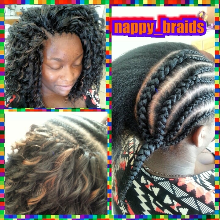 Mohawk Styles For Natural Hair Natural Hair Mohawk With Curls