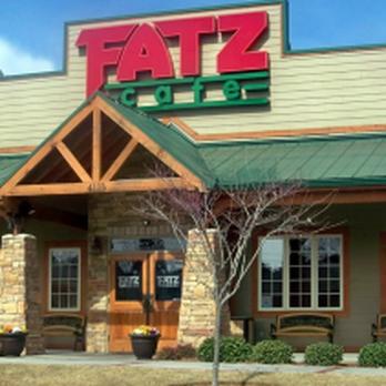 Fatz Cafe Menu In Camden Sc