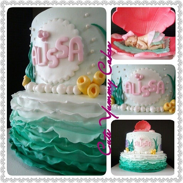 cakes bell gardens ca united states under the sea baby shower