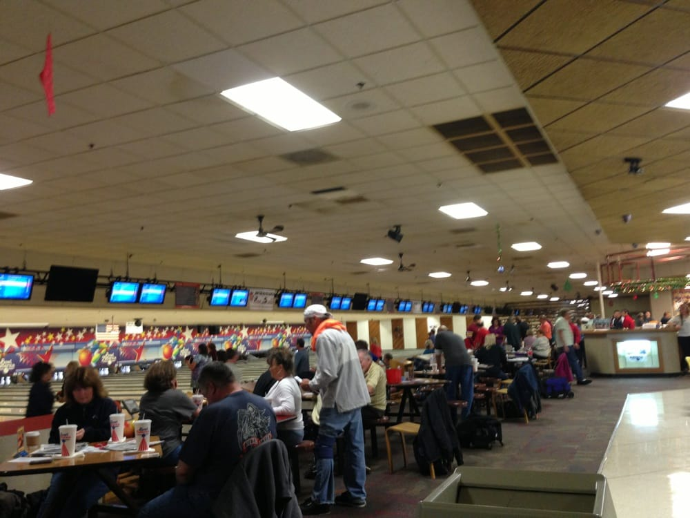 Inside of bowling ally | Yelp