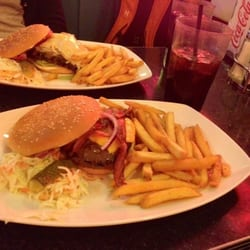 Classic Diner - Angus beef bacon burger. - Tampere, Finnland