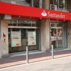 banco santander bank building societies l 39 eixample
