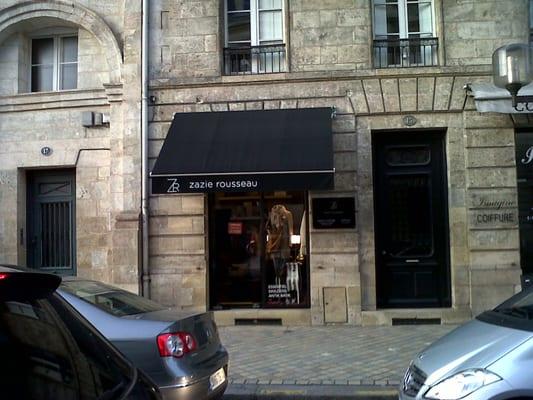 boutique zazie Rouseau cours Tournon Bordeaux