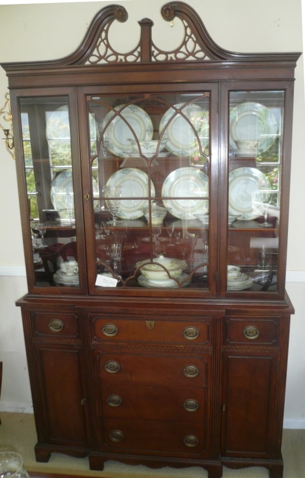 Mahogany Furniture China Cabinets Display Cabinets
