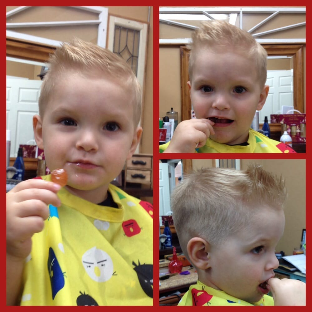 Pompadour Haircut Toddler : Kids pompadour haircut from stephanie at banana clips
