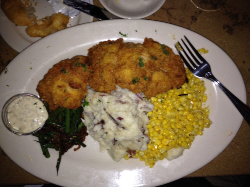 Southern fried catfish cheesecake factory for Fried fish calories