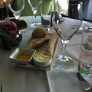 Selection of bread served before…