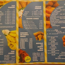 Sharks fish chicken chicken wings silver spring for Manhattan fish and chicken menu