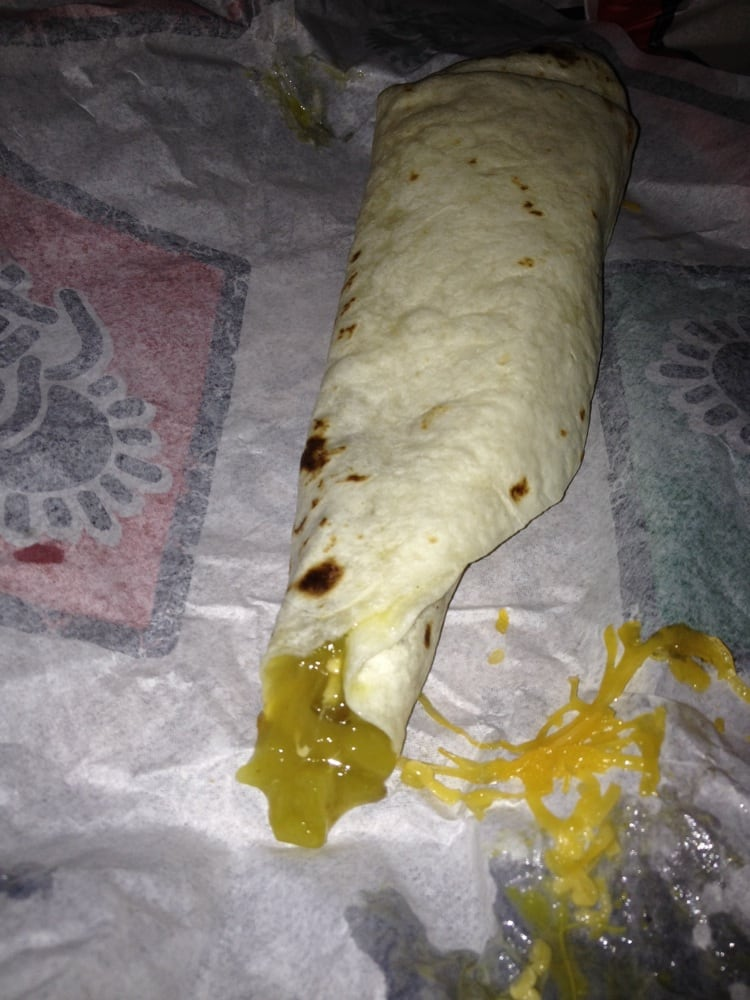 Bean And Cheese Burrito Del Taco Del Taco - Las Vegas  NV