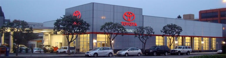 San Francisco Toyota Service >> San Francisco Toyota Parts Service And Rental 租车服务