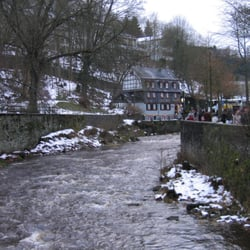christmas market, Monschau, Nordrhein-Westfalen, Germany