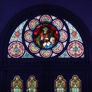 Fenster in der Eingangshalle