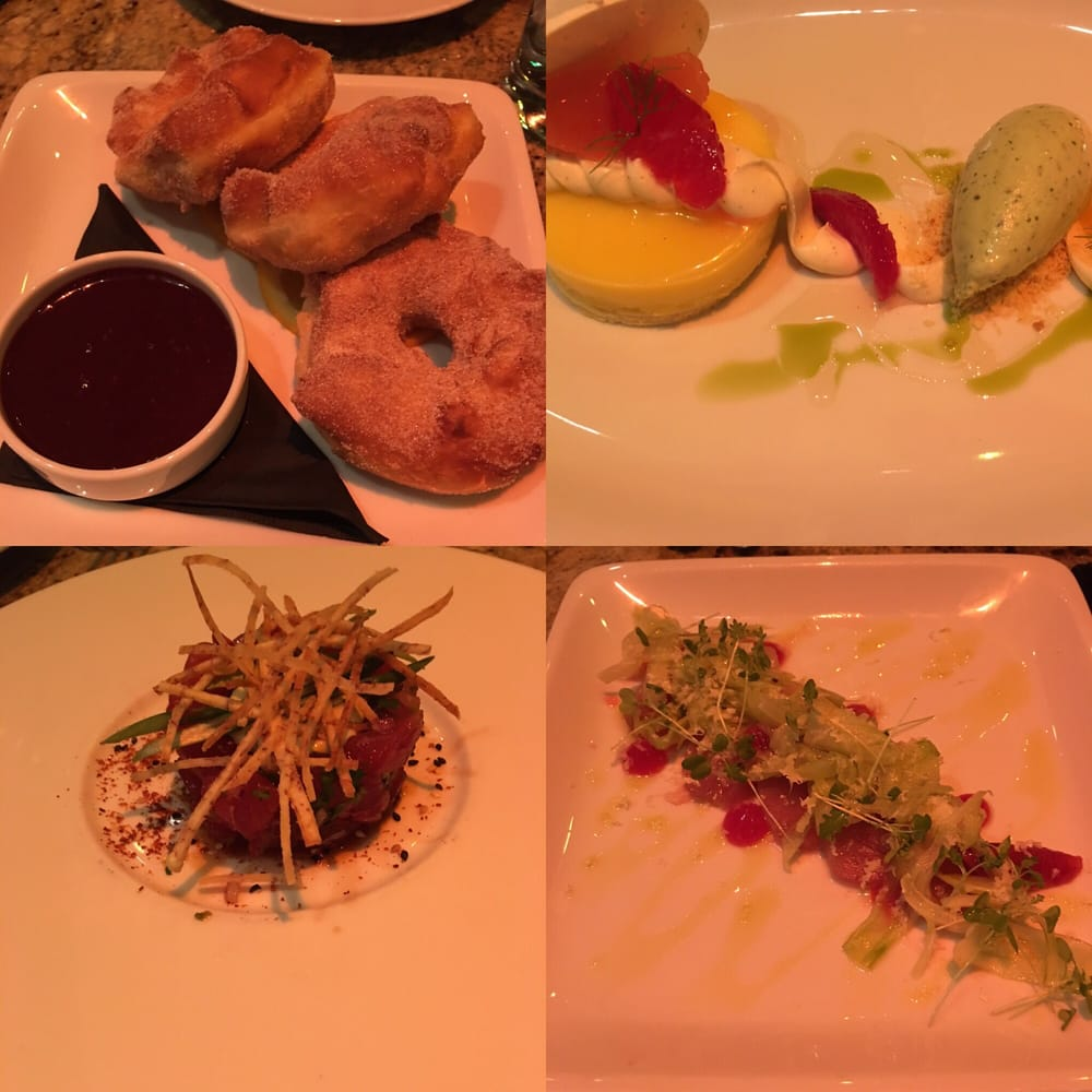 Two sweets and two appetizers yelp for Ringside fish house