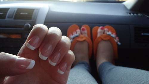 Shellac French Tip Nail Designs States French Tip Shellac