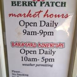 Brown's Berry Patch - Waterport, NY, Spojené státy.