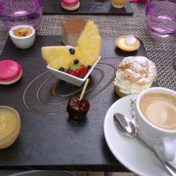La Porte Sainte Claire - Annecy, Haute-Savoie, France. Cafe Gourmand