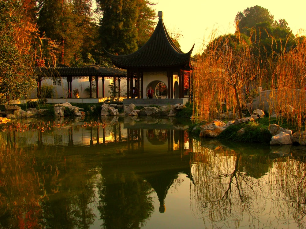 Fall Sunset At Huntington Library 39 S Chinese Garden Yelp