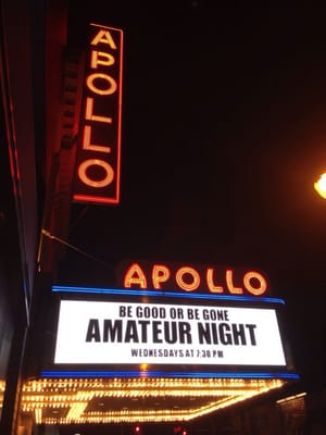 Comedy club amateur night